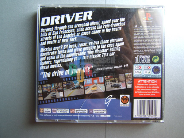 Driver 2 Disc1of2 U ISO PSX ISOs